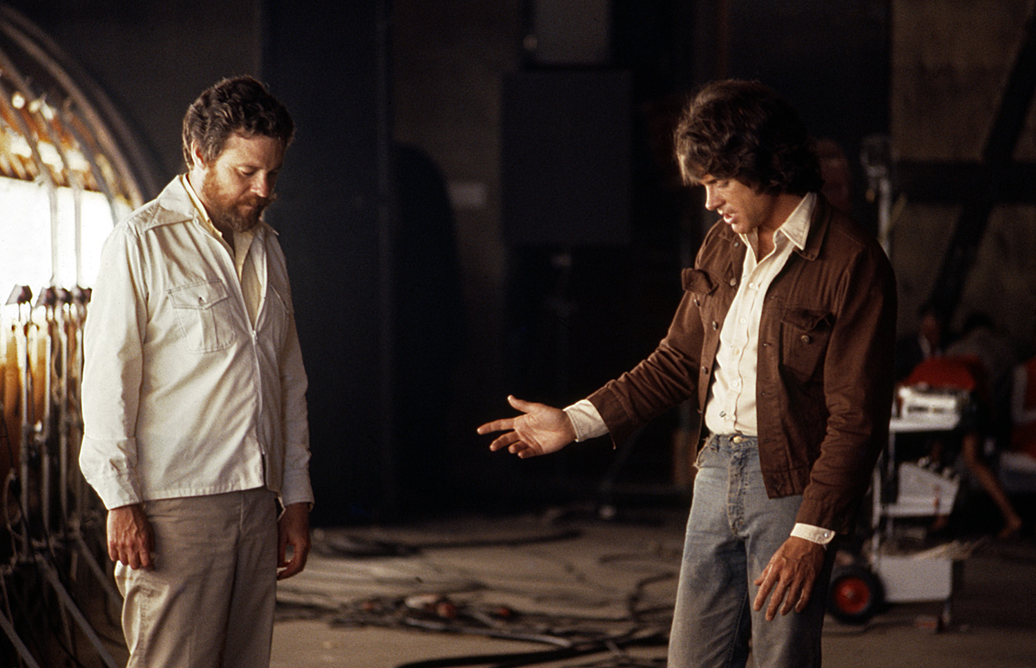 Alan Pakula and Warren Beatty, 1973 #2