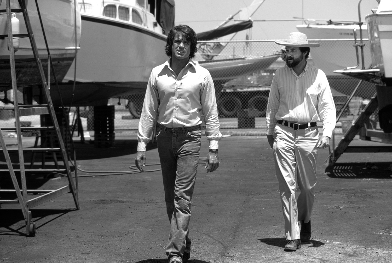 Warren Beatty and Alan Pakula, 1973 #4